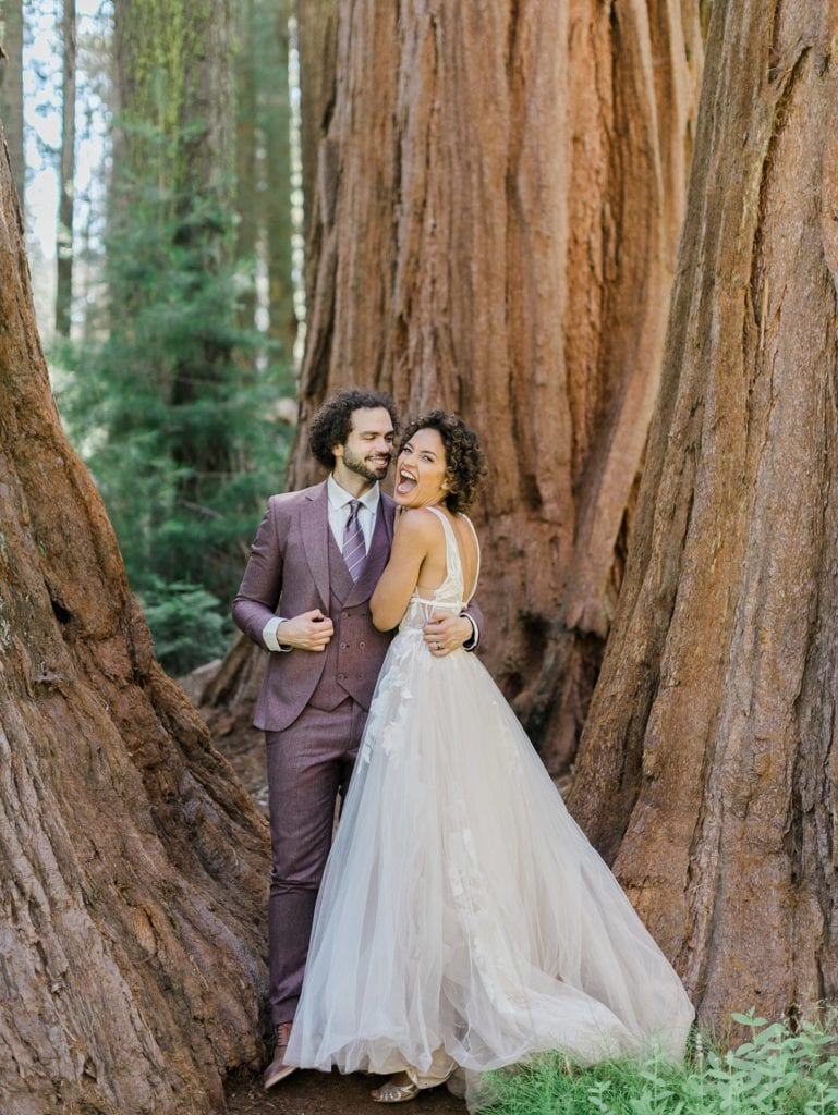 How to Elope in California | Sequoia National Park Elopement